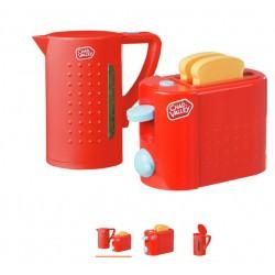 Czajnik +toster zabawkowy