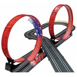 Tor samochodowy wyścigowy jak Hot Wheels 6,8 m